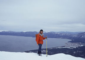 Image of Lake Tahoe from Mt. Tallac